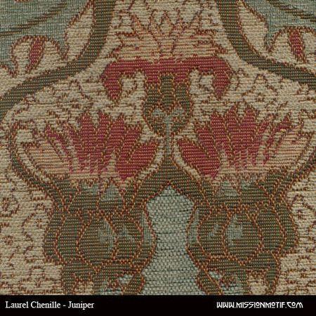 Laurel Chenille Juniper Deluxe Fabric Archive Edition