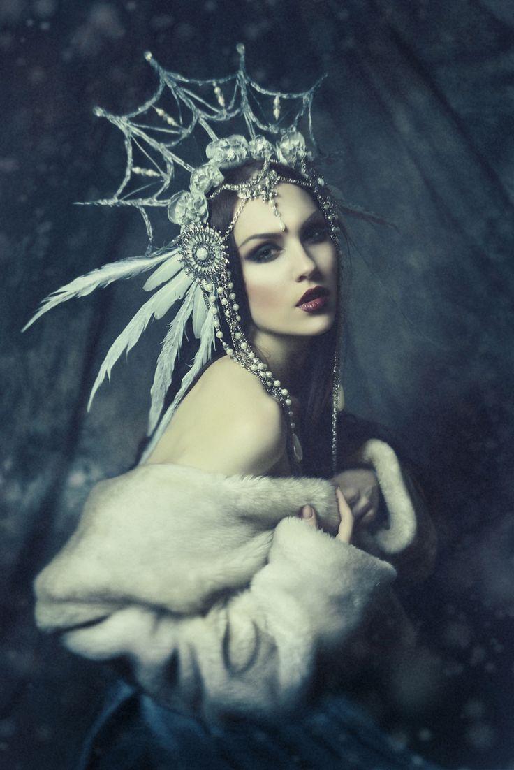 "darkbeautymag: ""Photographer: Rocco Zaraoui Model: Anastasiya Poddubnaya """
