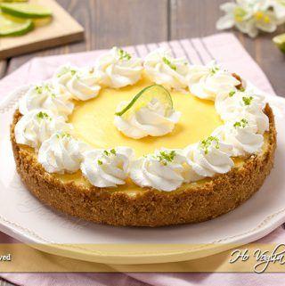 Key lime pie ricetta torta di limetta