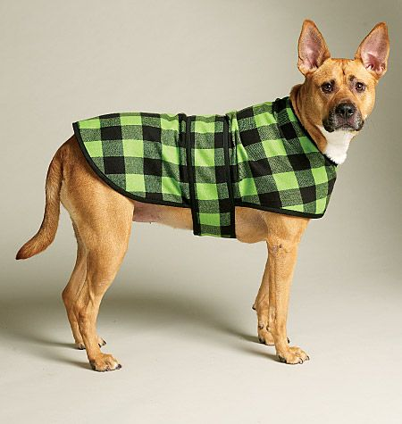 Hmm... Jacoby would rock this! M6455 | Dog Bed In 3 Sizes, Leash, Case, Harness Vest and Coat | Crafts/Dolls/Pets | McCall's Patterns