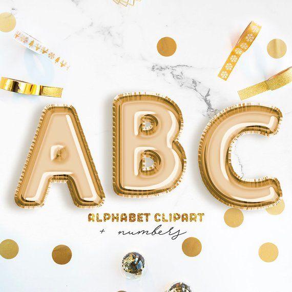 43 Gold Balloon Alphabet Clipart Foil Balloon Letters Gold Letters Clipart Alphabet Png Balloon Numbers Balloon Symbols Commercial Use Alphabet Clipart Clip Art Gold Balloons