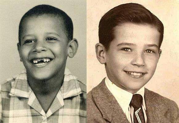 President Obama and Vice President Biden #children