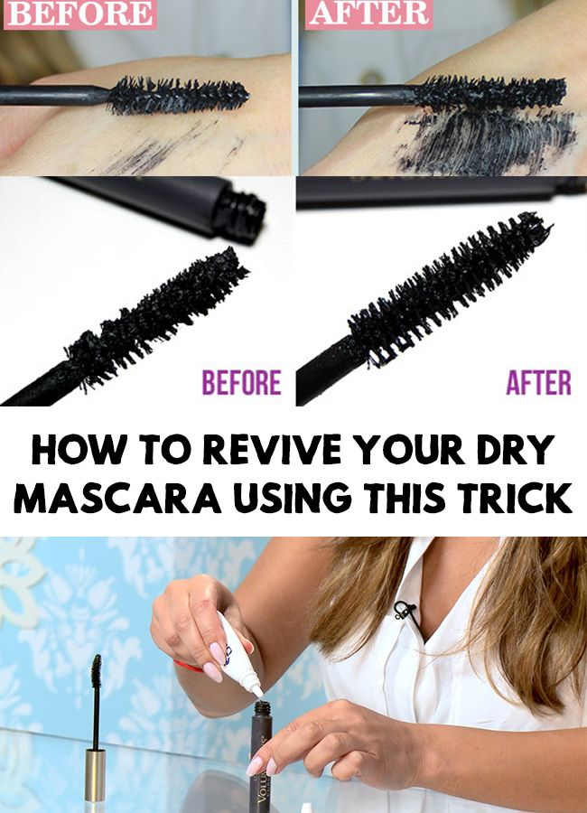 Don't rush to throw away and replace your old mascara yet! Find out How to Revive Your Dry Mascara Using This Simple Trick!