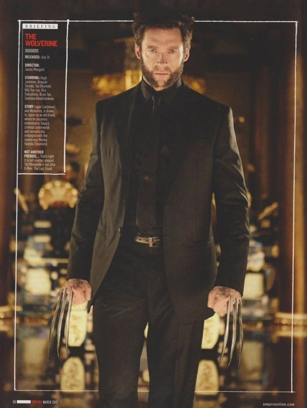 Hugh Jackman As Wolverine In A Suit | Super Sexy SEO