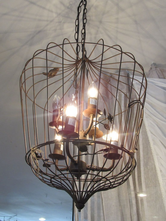 11 best chandelier diy ideas images by mary weaver on pinterest birdcage chandelier i love the addition of the free bird on the outside aloadofball Image collections