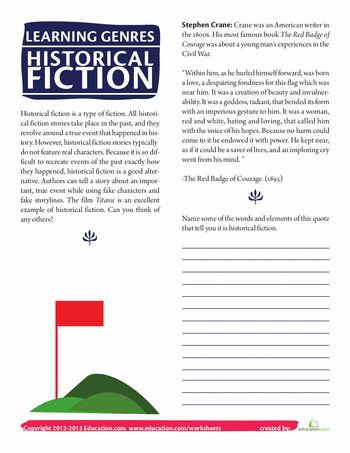 Historical Fiction 4th Grade