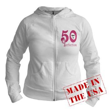 Pink Aged to Perfection 50 Jr. Hoodie #circusvalley