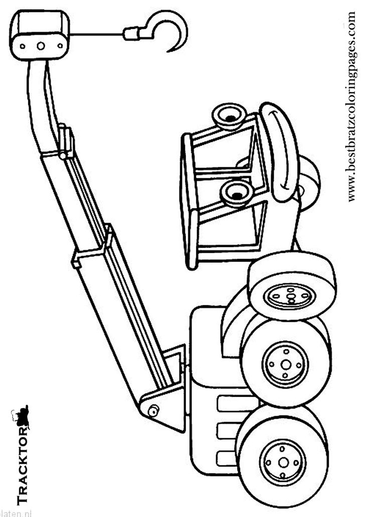 traktor tom coloring pages - photo#11
