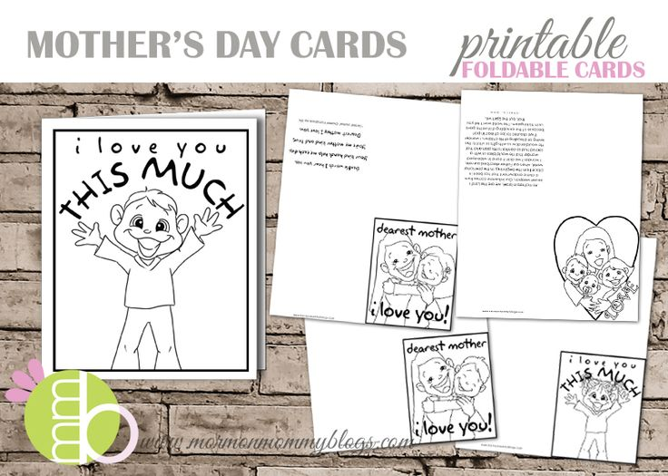 Mormon Mommy Printables Mother S Day Printable Cards To