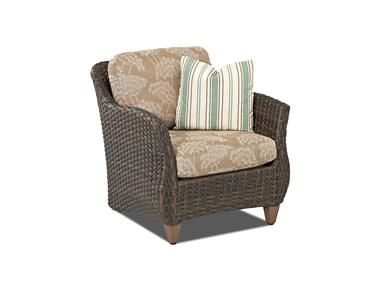 Shop for Klaussner Outdoor Sycamore Chair, W5100 C, and other Outdoor/Patio Chairs at Klaussner Outdoor in Asheboro, NC. The Sycamore collection shows its versatile capabilities moving from transitional to traditional with surroundings and fabric selection.