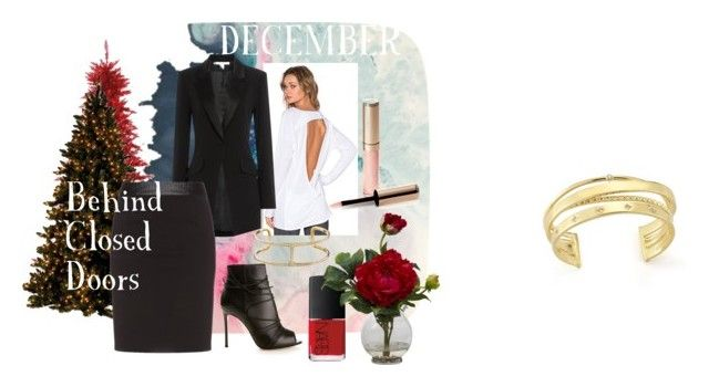 """""""December"""" by magazineboy on Polyvore featuring Vimmia, Diane Von Furstenberg, Manon Baptiste, Gianvito Rossi, Elizabeth and James, NARS Cosmetics, Nearly Natural and By Terry"""