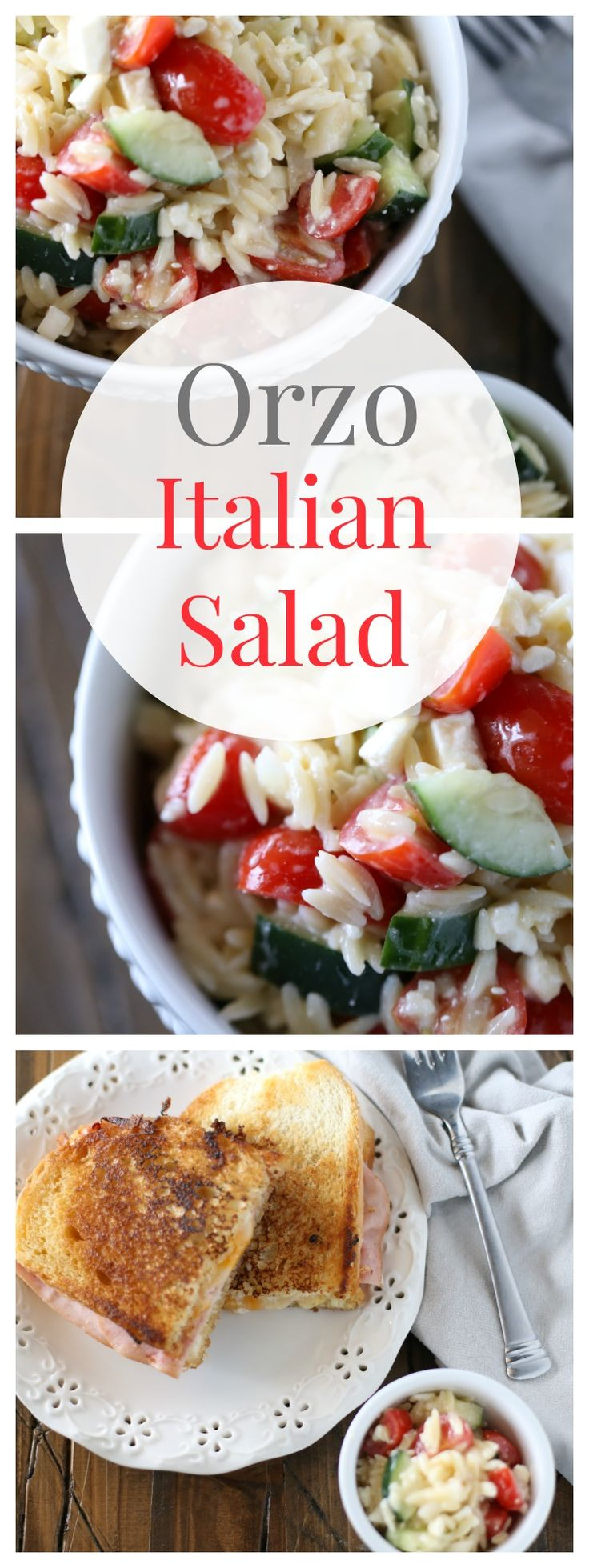 Find out how to make this Orzo Italian Salad