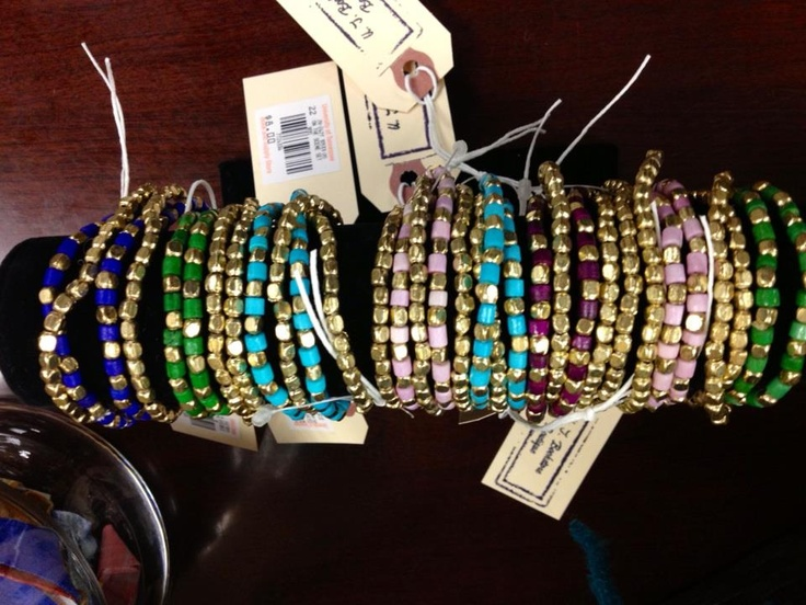 Bracelets available in the Boutique at the University of Tennessee Bookstore