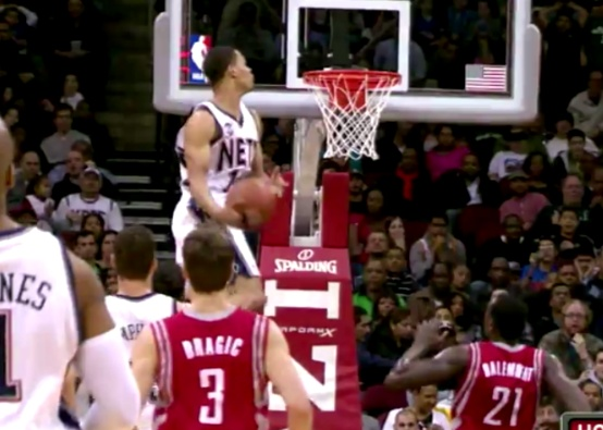 Gerald Green head above the rim!!! 2012 dunk of the year?