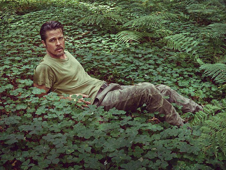 Brad Pitt: 'I Don't Suck at Being a Dad' http://www.people.com/article/brad-pitt-fatherhood-details-magazine