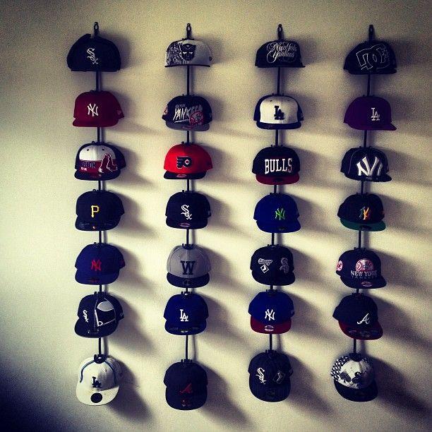 Vertical Hat Hanger For Wall