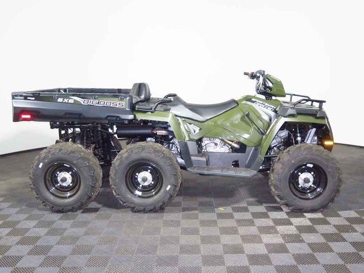 New 2017 Polaris Sportsman Big Boss 6x6 570 EPS ATVs For