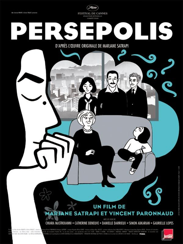 Persepolis est un film de Marjane Satrapi avec Sean Penn, Iggy Pop. Synopsis : Téhéran 1978 : Marjane, huit ans, songe à l'avenir et se rêve en prophète sauvant le monde. Choyée par des parents modernes et cultivés, particulièrem