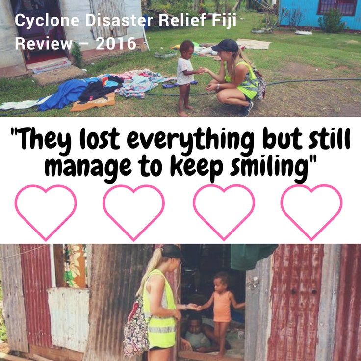 Review: cyclone disaster relief volunteering in Fiji 2016. Apply online. Over 25 years in operation, reasonable program fees, structured, secure.