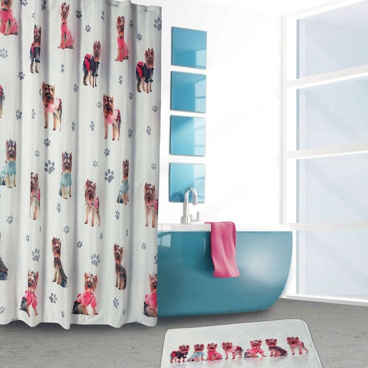 Bath curtain set .. S - 16