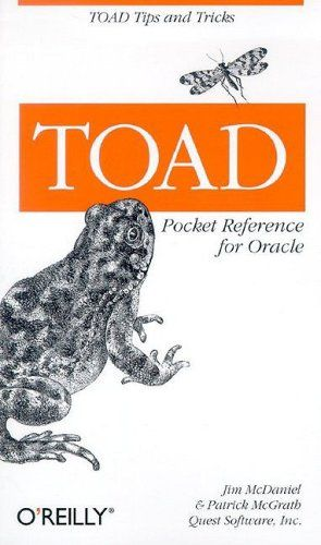 Toad Pocket Reference for Oracle (Pocket Reference (O'Reilly)). It also simplifies database administration by providing a way for DBAs to graphically browse and change database characteristics. The Tool for Oracle Application Developers (TOAD) is a popular graphical user interface for the Oracle database that allows programmers to build, test, debug, an format their code within an interactive development environment. Written by TOADman (Jim McDaniel, the creator of TOAD) and Patrick...