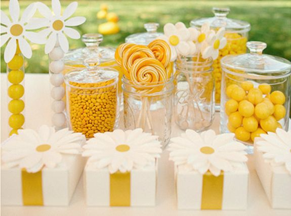 summer party candy bar