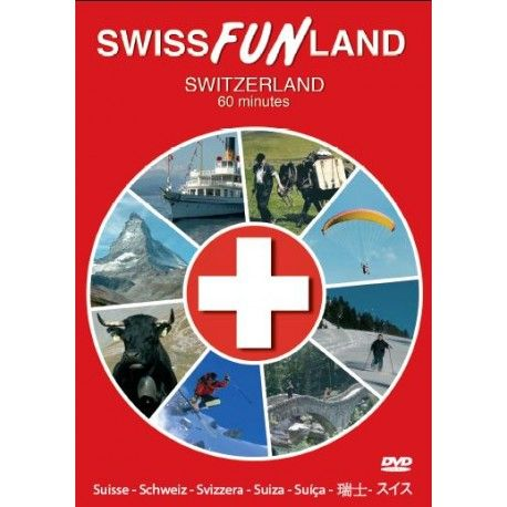 "With its many wonderful images, the DVD film ""SWISS FUN LAND"" will take you to the loveliest places in the 26 cantons, over all full seasons and through 40 fascinating sports. The images are without commentory and set against a background of original music."