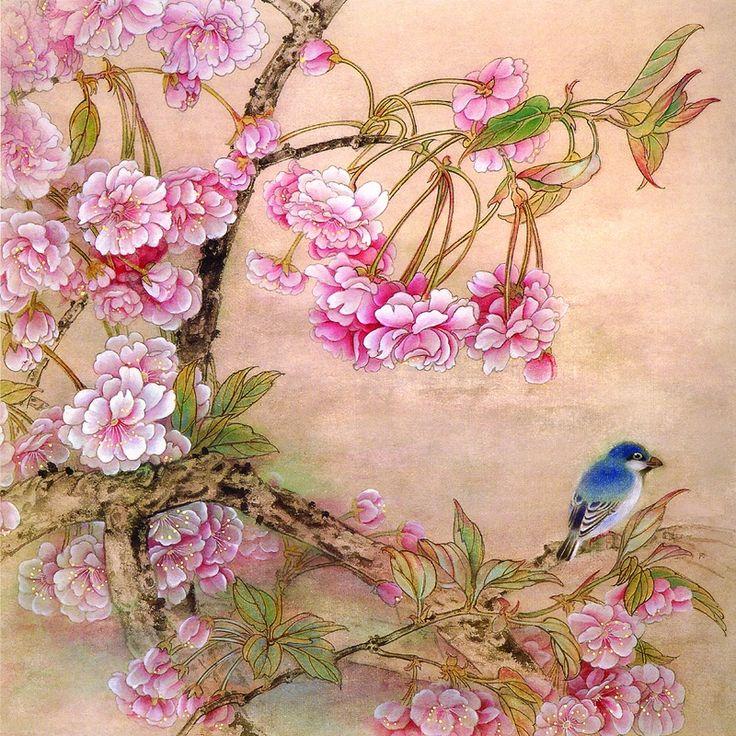 японские китайские птицы картинки способом можно обработать
