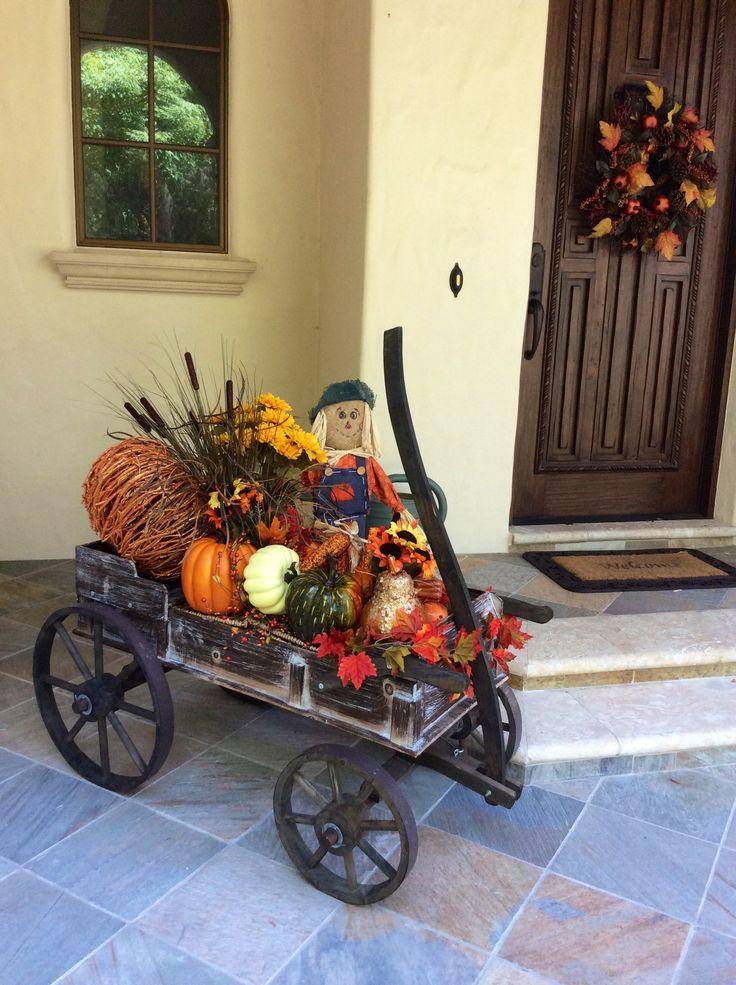 Best 25+ Fall wagon decor ideas on Pinterest | Small ...