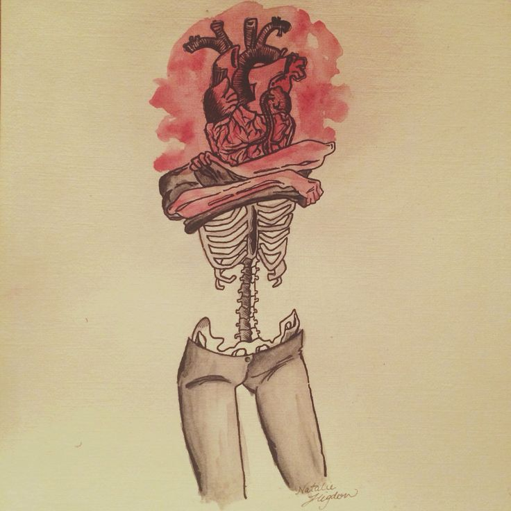 I let you under my skin and this is what happened