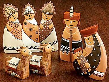 nativity from perù