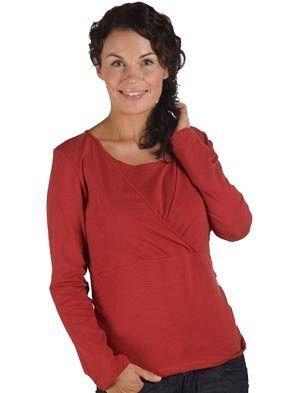 Bluza pentru alaptare discreta - Carriwell Kaj cu maneca lunga