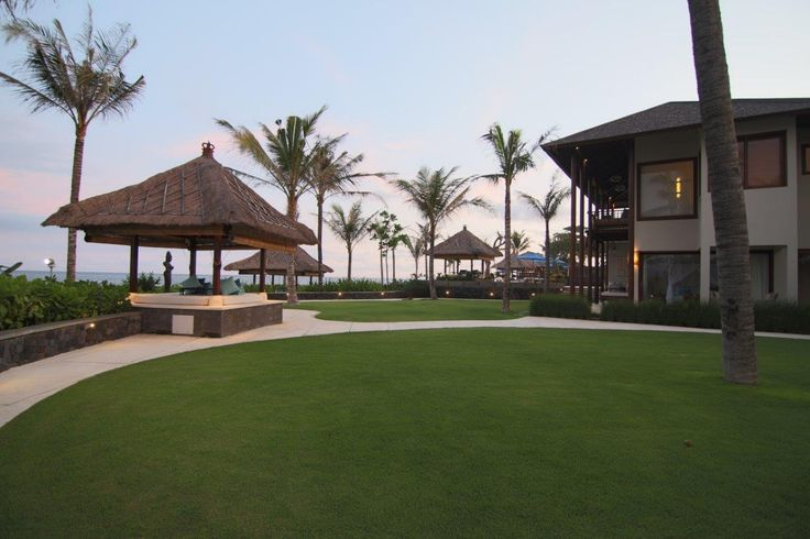Grass area in Puri Salila, Anapuri Villas. #Anapuri #Bali