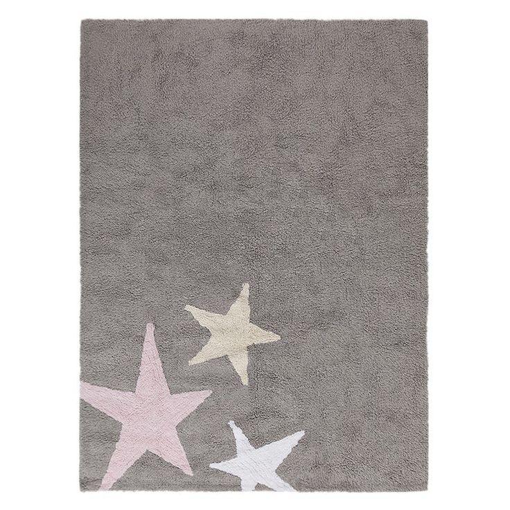 """Lorena Canals - waschbarer Teppich """"Three Stars..."""
