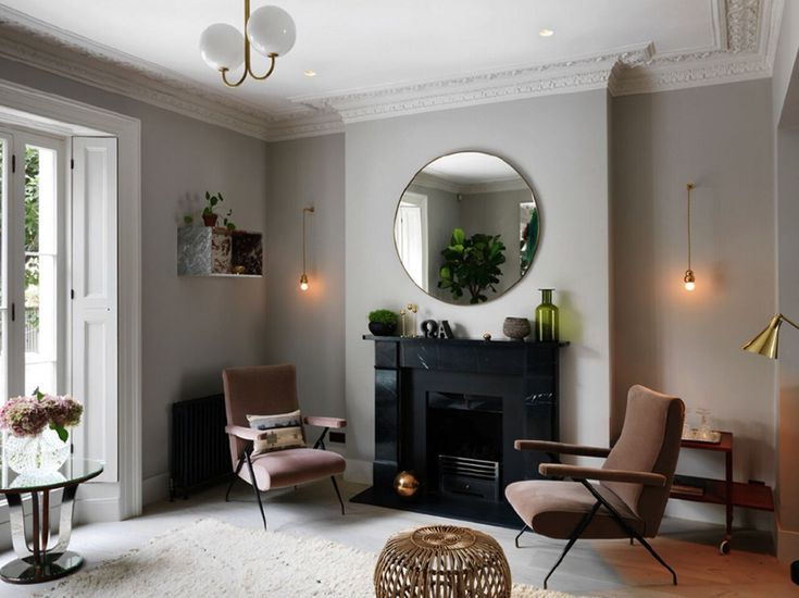 High-style vintage and contemporary in a Notting Hill town house by interior…