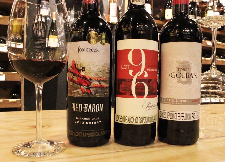 ¡Wine Wednesday! Y ustedes con que vino van a acompañar la mesa? Grandes vinos y etiquetas de producciones pequeñas y exclusivas... www.daniel.com.co/boutique90