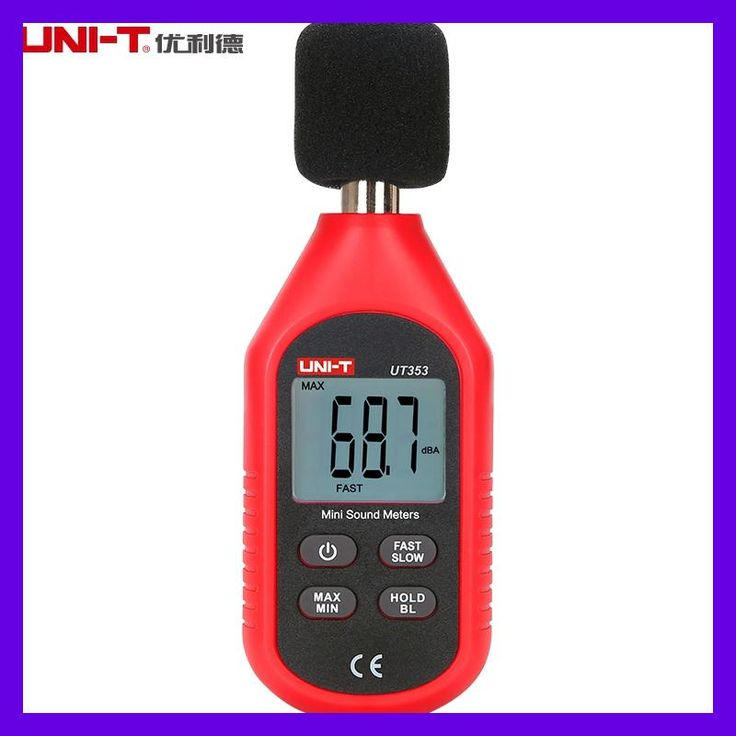 UNI-T UT353 Noise Measuring Instrument db Meter 30~130dB Mini Sound Lever Meter Decibel Monitor
