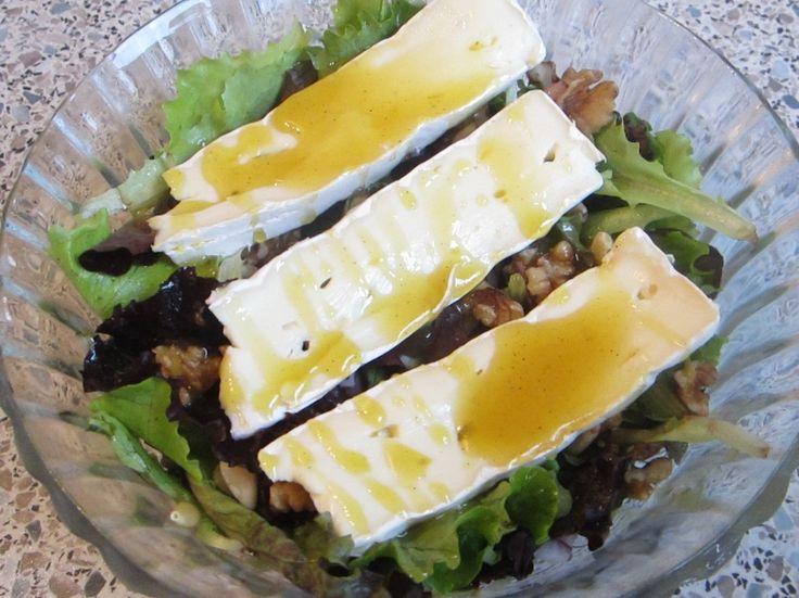 Roombrie noten salade