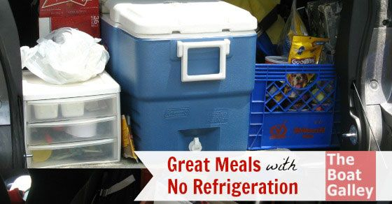 With a little planning you can eat well -- a 4-day meal plan for a trip without refrigeration