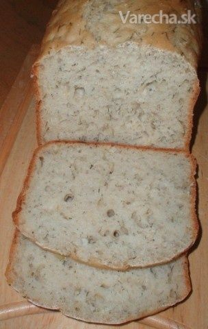 Švédsky kôprový chlieb