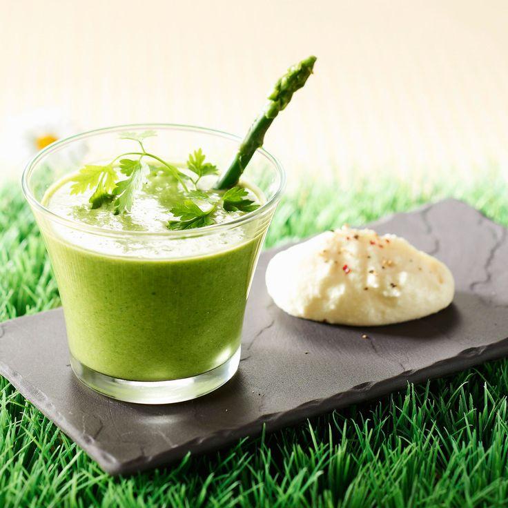Découvrez la recette Mousse d'asperge sur cuisineactuelle.fr.