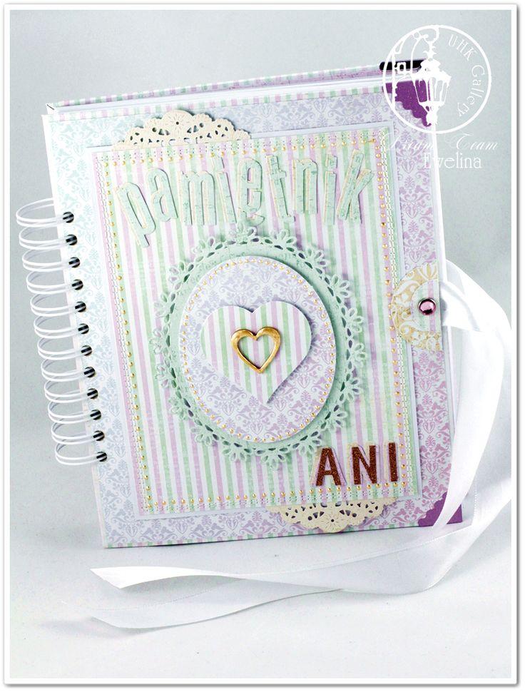 UHK Gallery - inspiracje: Prezent dla Córki od Mamy - romantyczny pamiętnik