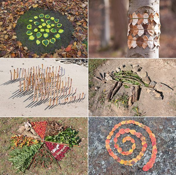 juegos naturaleza niños1 Arte con los Niños en la Naturaleza