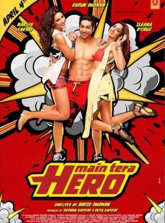 Tera Dheyaan Kidhar hai Ye tera Hero Idhar hai,in all prime indian theatres april 7,the promos look fantastic :D