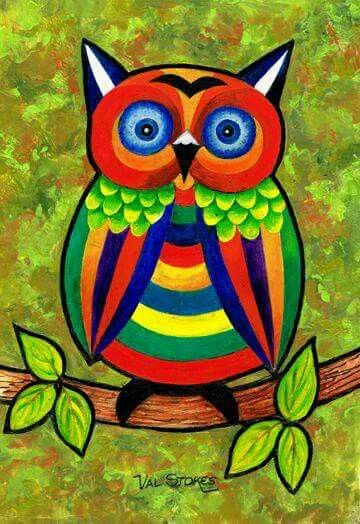 Very bright owl ...