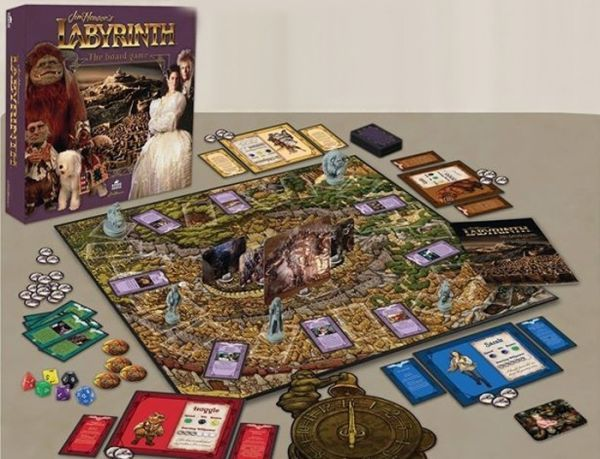 Yep, you read that right. Coming this summer, River Horse will be releasing a board game based on Jim Henson's Labyrinth. Created in partnership with The Ji
