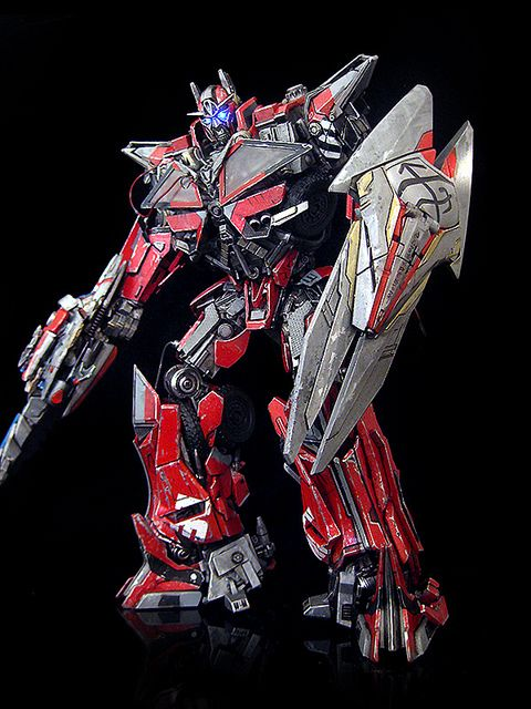 Sentinel Prime (v3) by frenzy_rumble (custom)