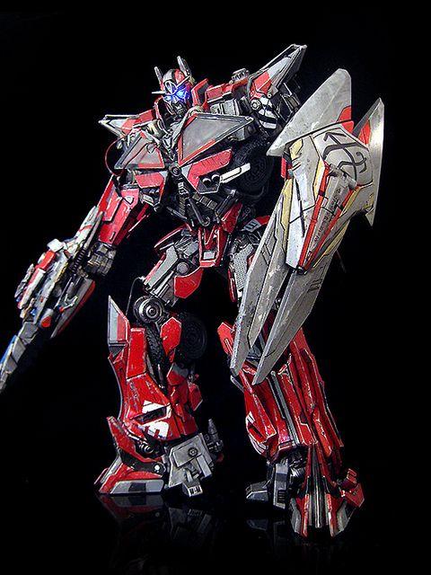 Grimlock Fall Of Cybertron Wallpaper Sentinel Prime V3 By Frenzy Rumble Custom Custom