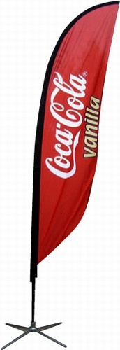 Feather Small Flag Banner. Ask a Question: https://www.productionprints.com/Articles.asp?ID=276