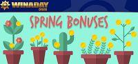 Up to 100% Weekly Spring Bonuses at Winaday Casino